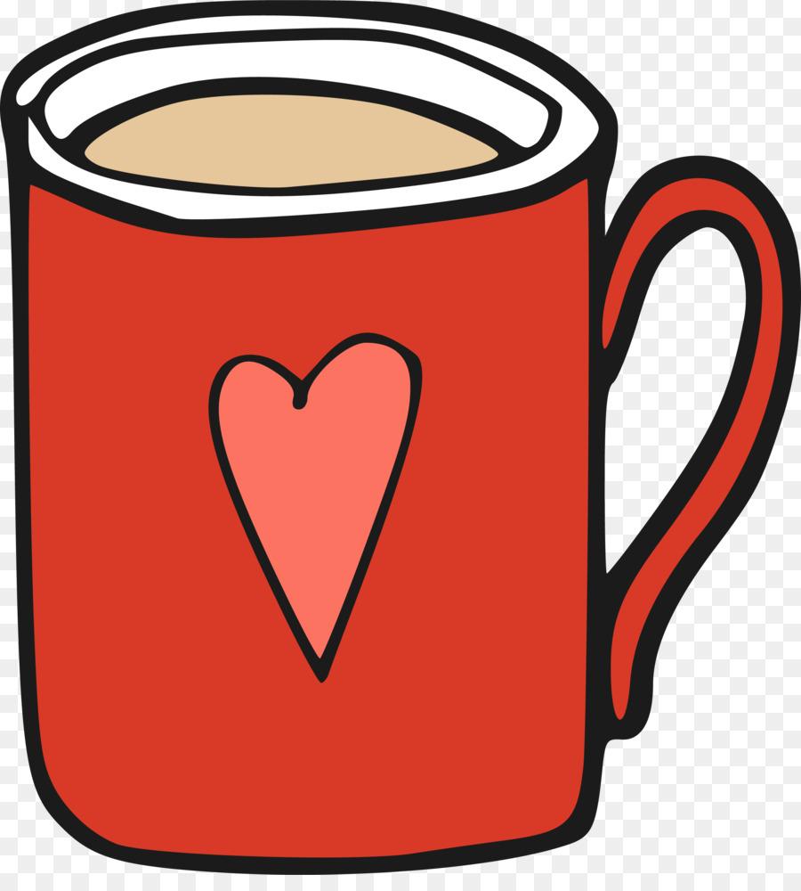 Kaffee Tasse Becher.