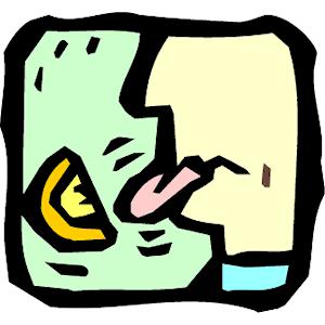 Bitter Taste Clip Art.
