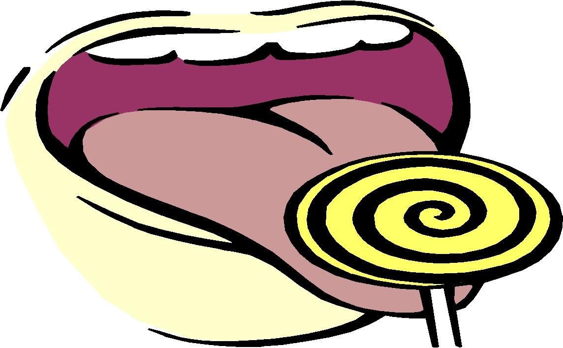 Clip Art Sense Of Taste Clipart#1927205.