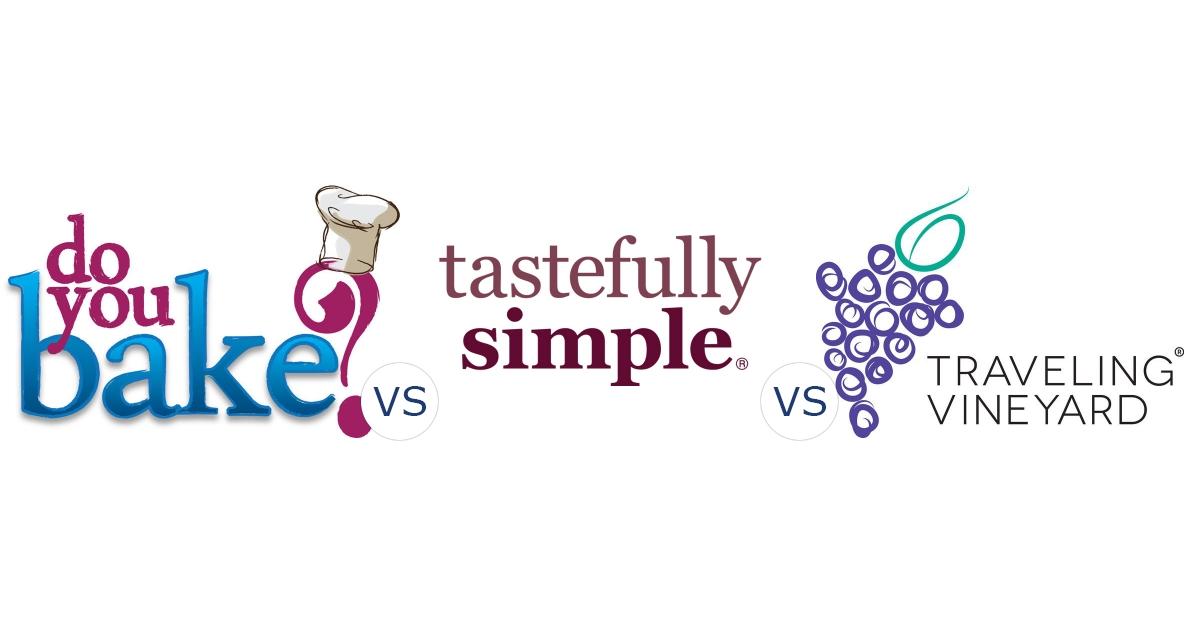 Do You Bake? vs. Tastefully Simple vs. The Traveling.