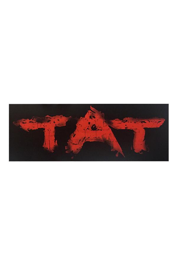 TAT Logo Bumper Sticker.