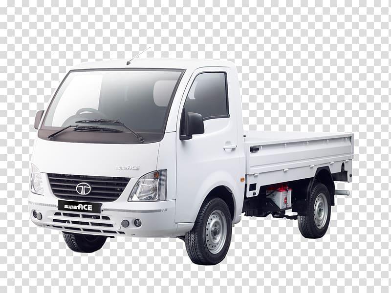 White Tata Ace drop side truck, Tata Super Ace Tata Ace Tata.