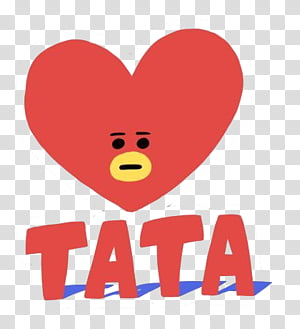 Tata text transparent background PNG clipart.