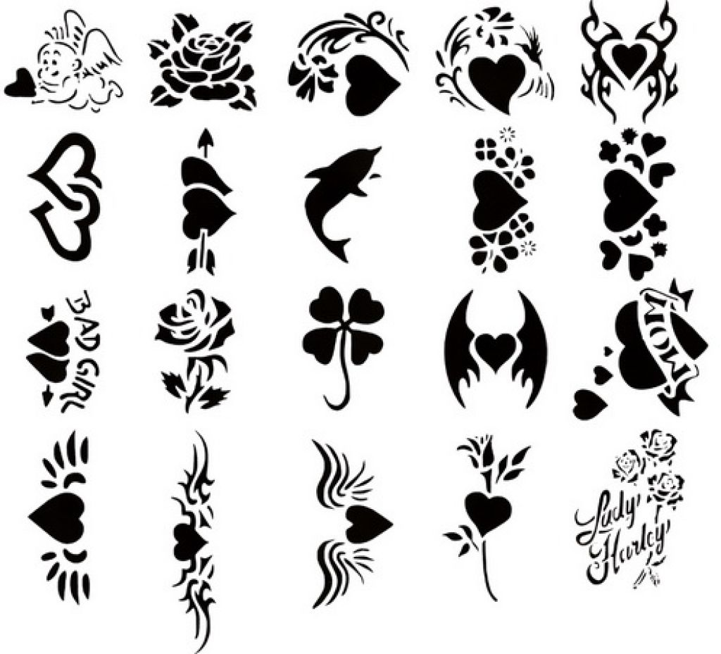 Tattoo clip art designs free clipart images 4.