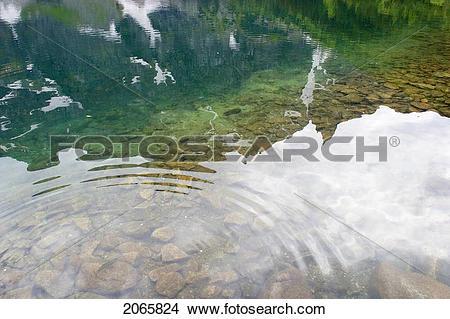 Stock Photo of Mountain Lake, Tatra Mountains, Poland 2065824.