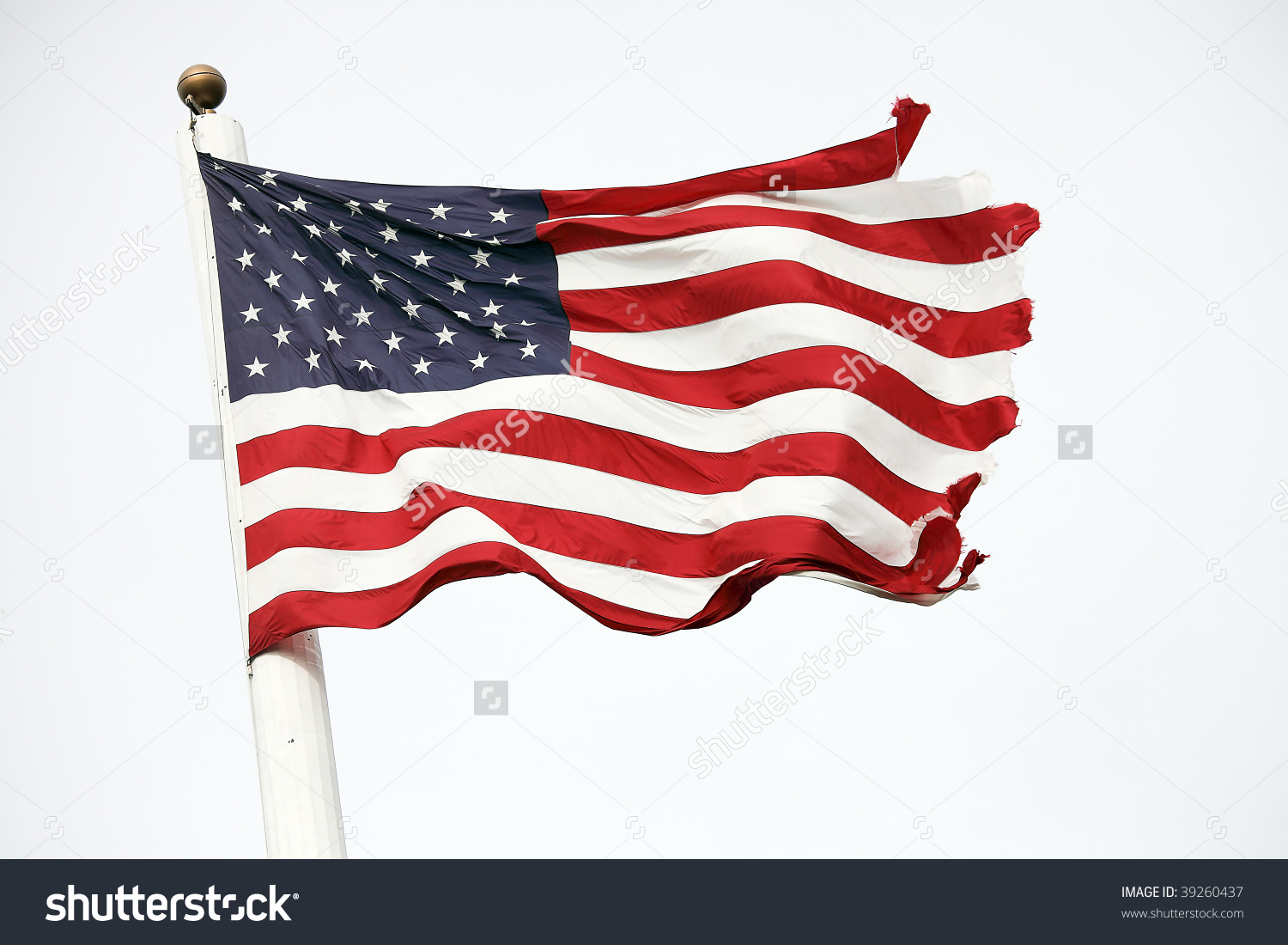 American flag tattered. Clipart free cliparts download