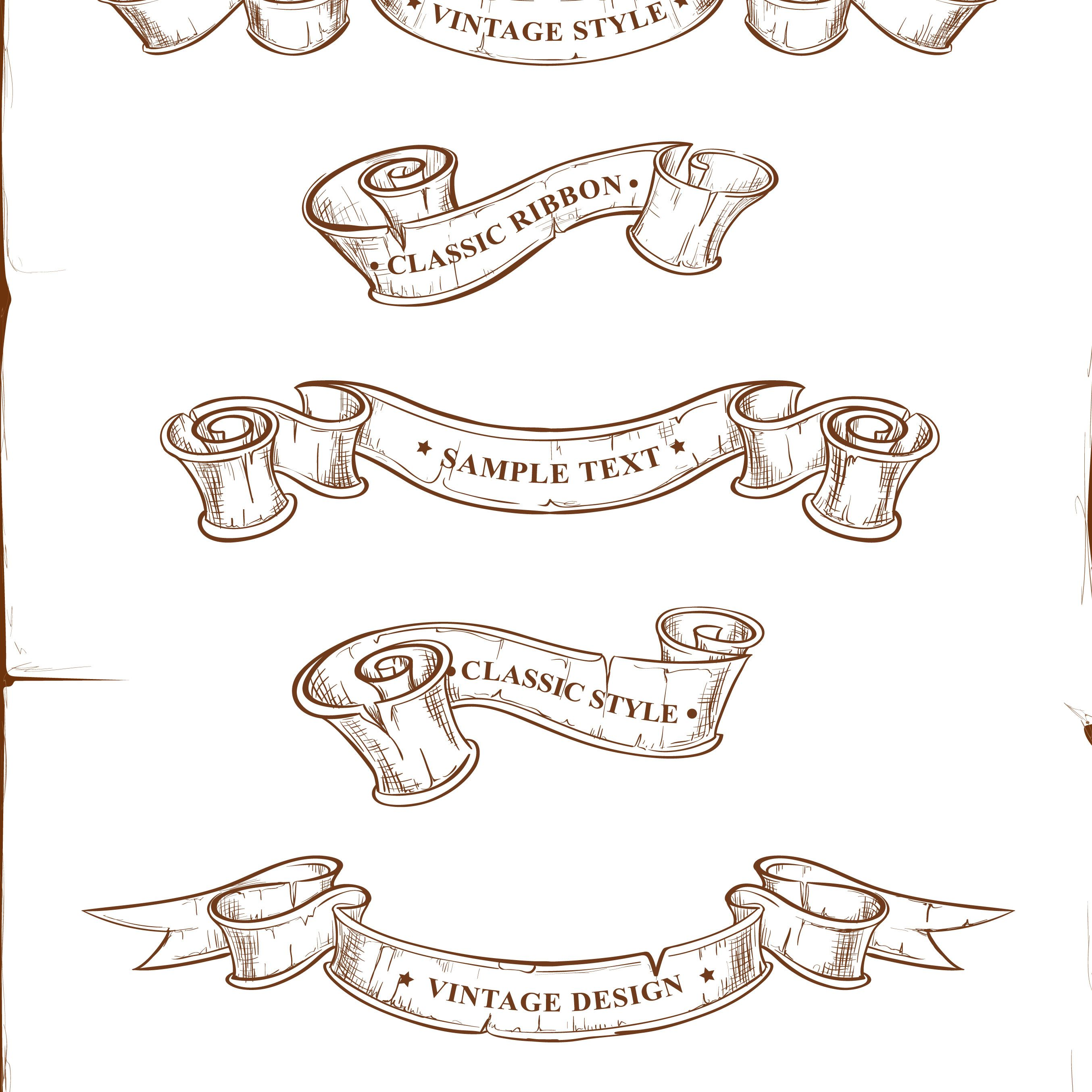 Tattoo Ribbon Vector at GetDrawings.com.