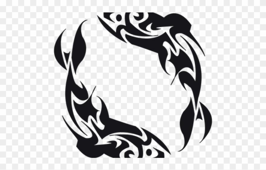 Fish Tattoos Clipart Tribal.