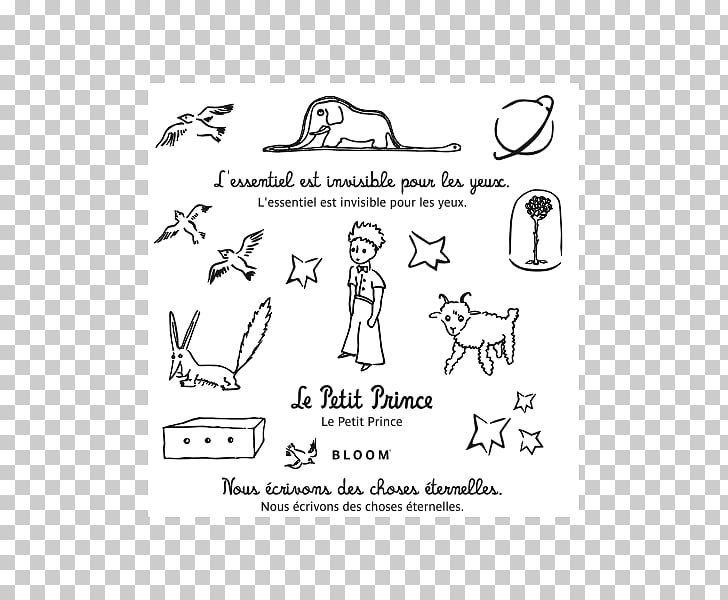 The Little Prince Tattoo ink Coloring book, le petit prince.