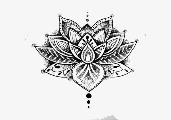 Tattoo PNG, Clipart, Hand, Hand Painted, Lotus, Painted.