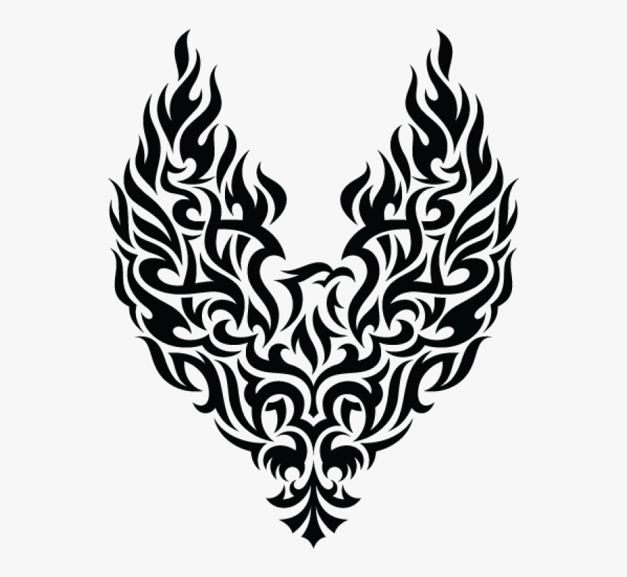 Transparent Feather Tattoo Png.