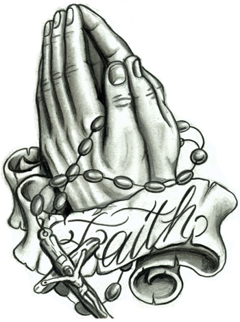 Free Praying Hands With Rosary, Download Free Clip Art, Free.