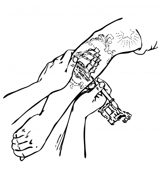 Tattoo Clipart Illustration Free Stock Photo.