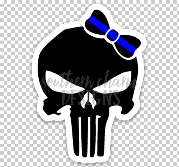 Punisher Decal Sticker Logo Graphic design, daredevil.