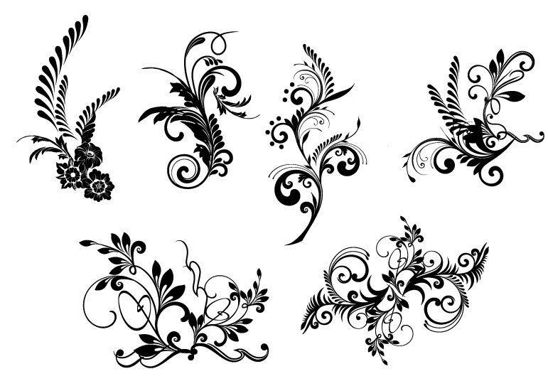 flourishes Damask vintage lace Designs Border. LOVE LOVE.