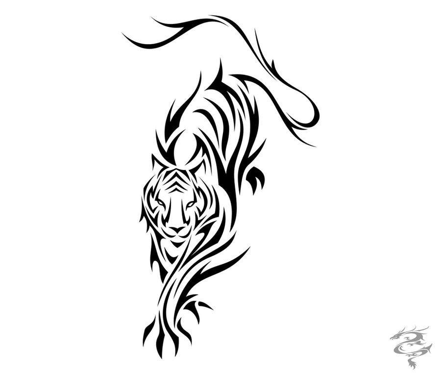 20 [FREE] SIMPLE TRIBAL TIGER TATTOO DESIGNS PRINTABLE HD.