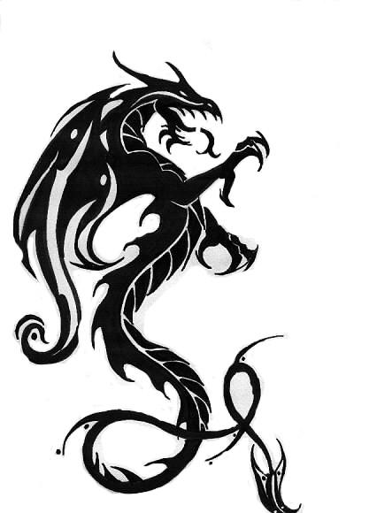 Free Dragon Tattoo, Download Free Clip Art, Free Clip Art on.
