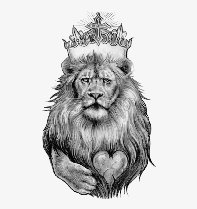 Lion Tattoo Png Clipart.
