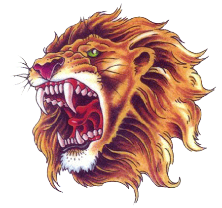 Lion Tattoo PNG Transparent Images.