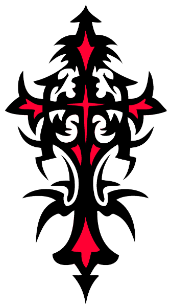 Download CROSS TATTOOS Free PNG transparent image and clipart.