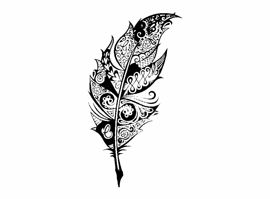 Tumblr A Art Pinterest Feathers Tattoo And.