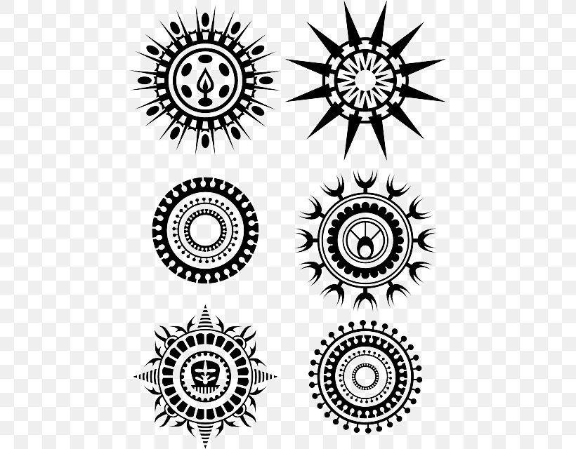 Tattoo Polynesia Circle Clip Art, PNG, 451x640px, Tattoo.