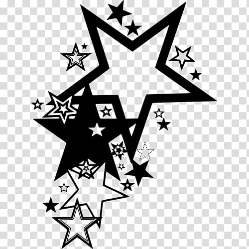 Star Tattoo , star transparent background PNG clipart.