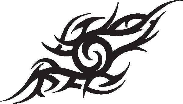 Tribal Tattoos PNG File.