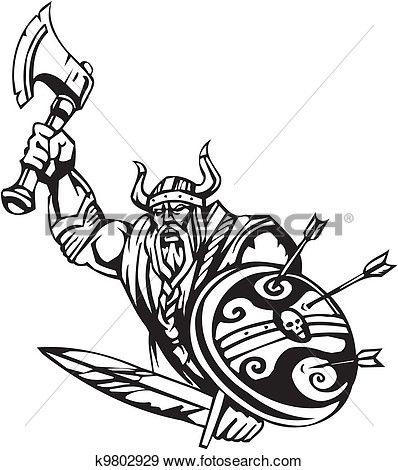 Nordique, viking,.