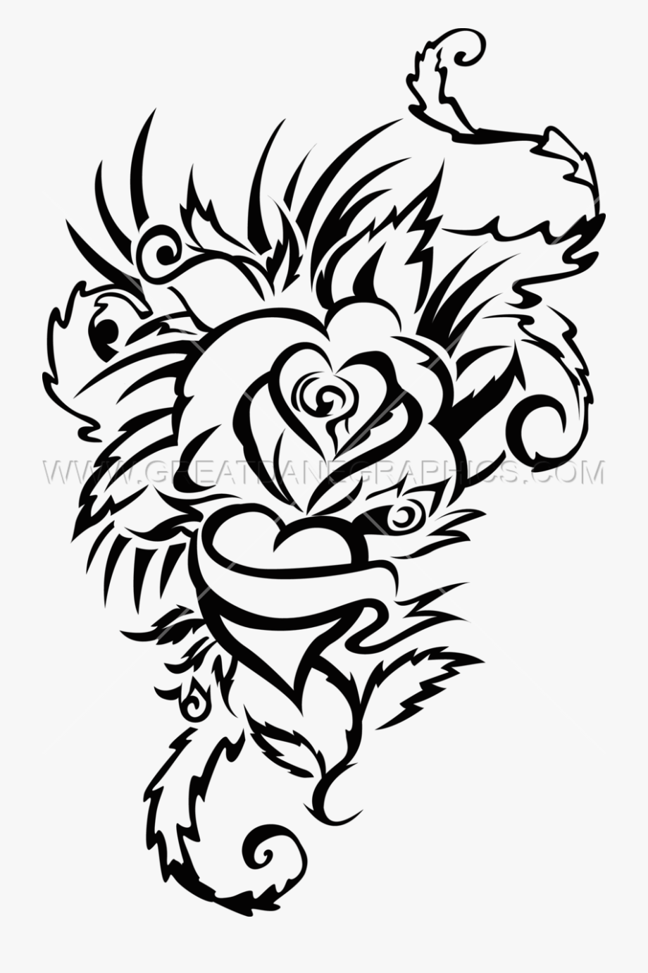 Love Tattoo Clipart Png Format.