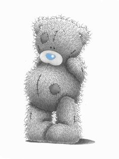 Tatty Teddy Bear Clipart.