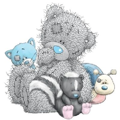 Tatty Teddy Bear Baby Clip Art.