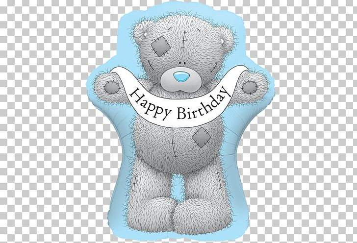 Balloon Me To You Bears Birthday Gift Teddy Bear PNG.