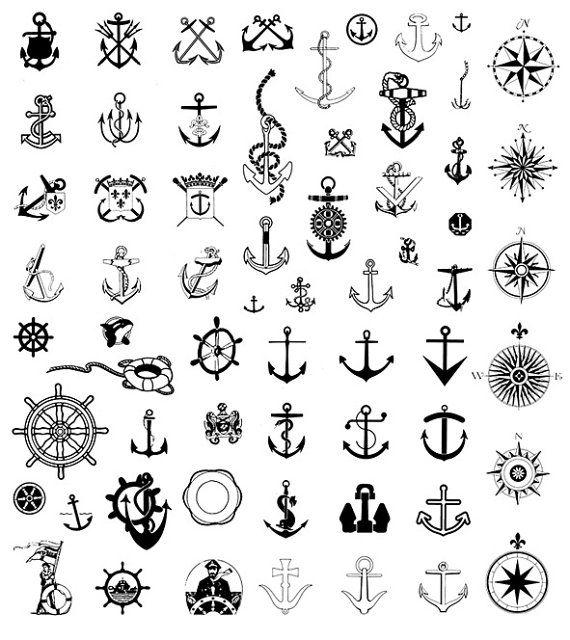 DIGITAL SCRAPBOOK CLIPART Nautical Clip by.