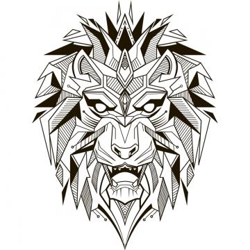 Tatuagem De Leão PNG Images.