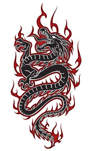 Dragons Tattoos.