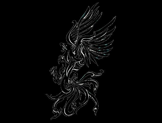 Phoenix Tattoo Right transparent PNG.