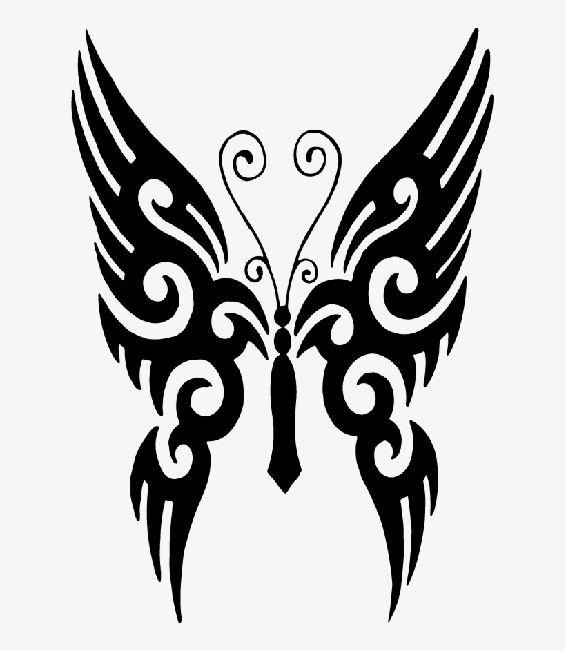 Butterfly Tattoo Designs Png Transparent Free Images.