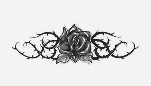Tatuajes para Mujeres, Flores, parte 4.