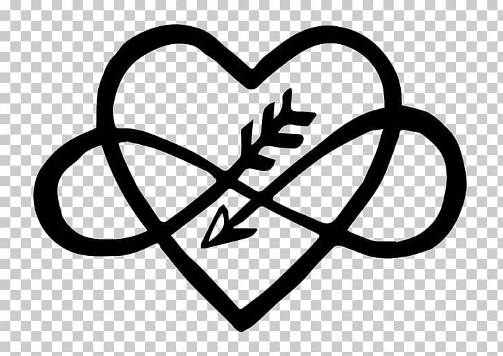 Infinito y corazón, corazón infinito símbolo pastel de bodas.