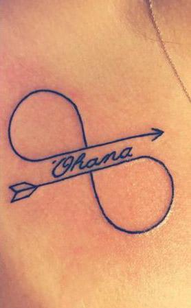25 Originales Tatuajes de Ohana con gran Significado.