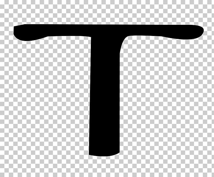 Tau Cross Tau Cross Symbol, tau PNG clipart.
