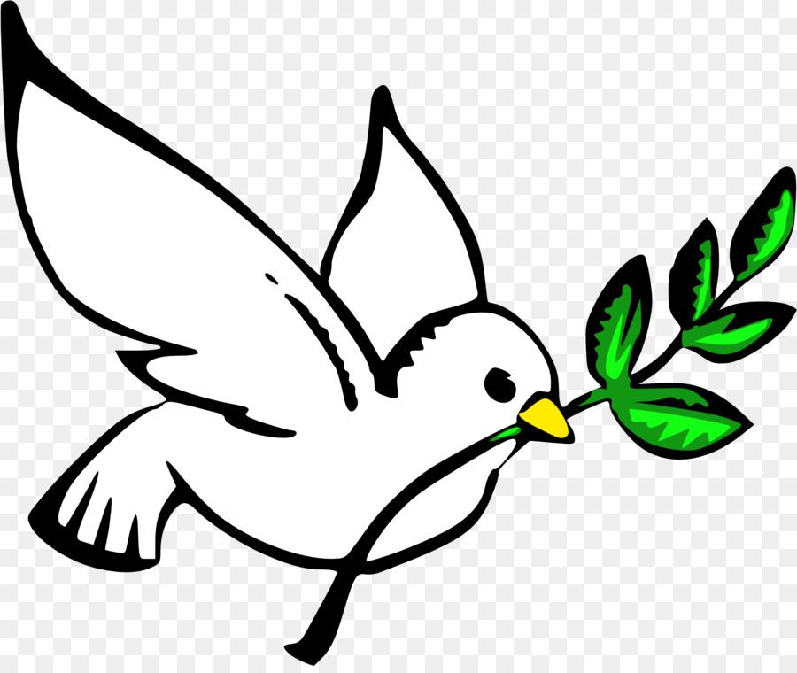 Tauben als Symbole Friedenstauben und Tauben ClipArt.