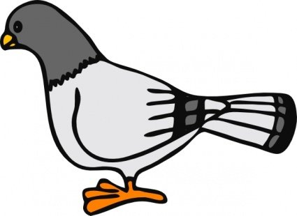 Pigeon Clipart Picture Free Download.