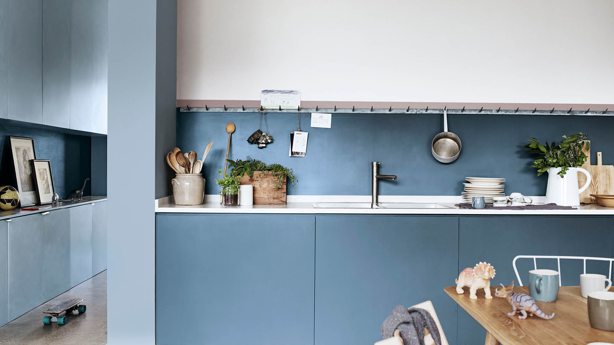 Find a modern colour scheme to suit your family with.