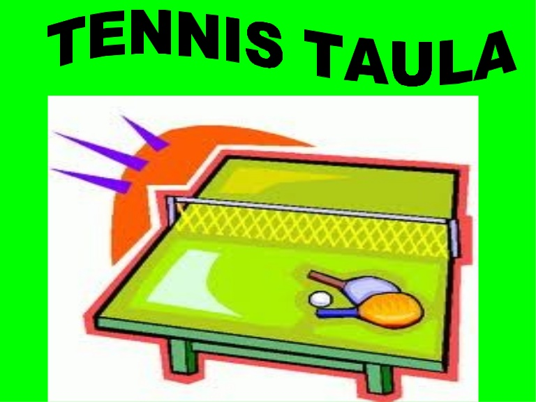 Tennis taula alex y hector.