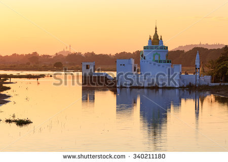 Taungthaman Lake Stock Photos, Images, & Pictures.
