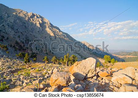 Picture of Taurus mountains csp13855674.