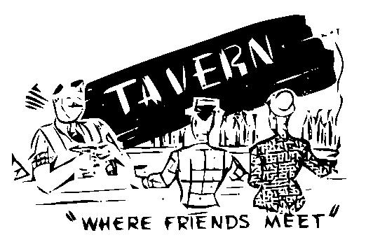 Tavern clipart.