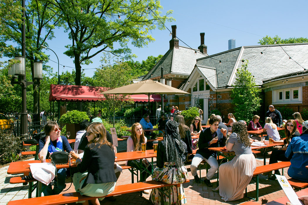 Tavern on the Green Adds a Beer Garden.